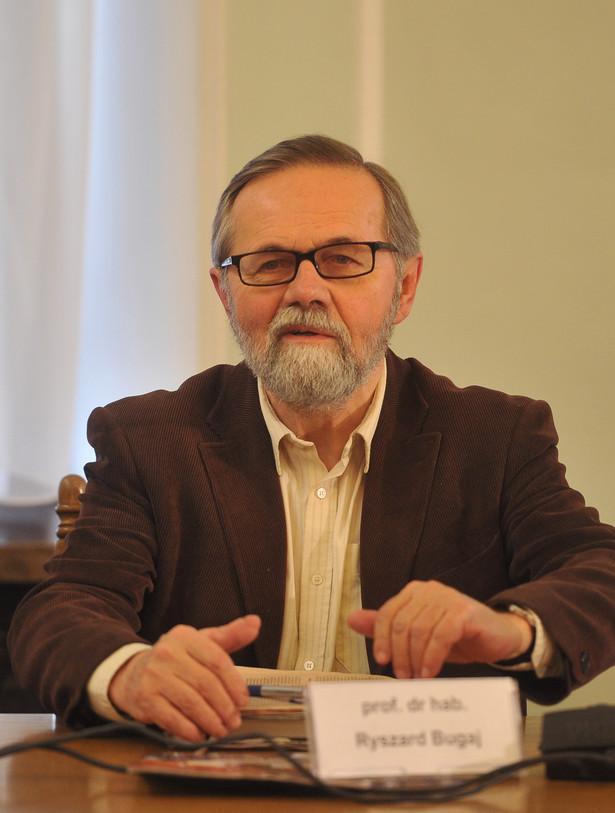 Ryszard Bugaj ekonomista, profesor PAN