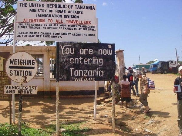Kenya-Tanzania border