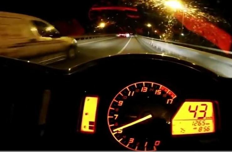 Voznja brzina motor