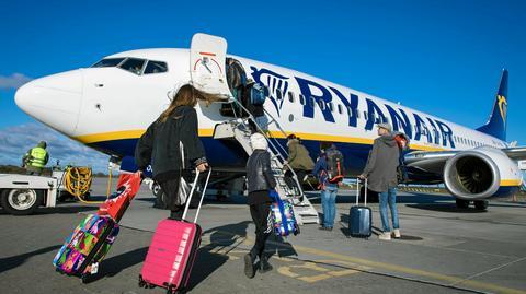 Ryanair będzie się musiał zmierzyć ze strajkiem w kilku krajach