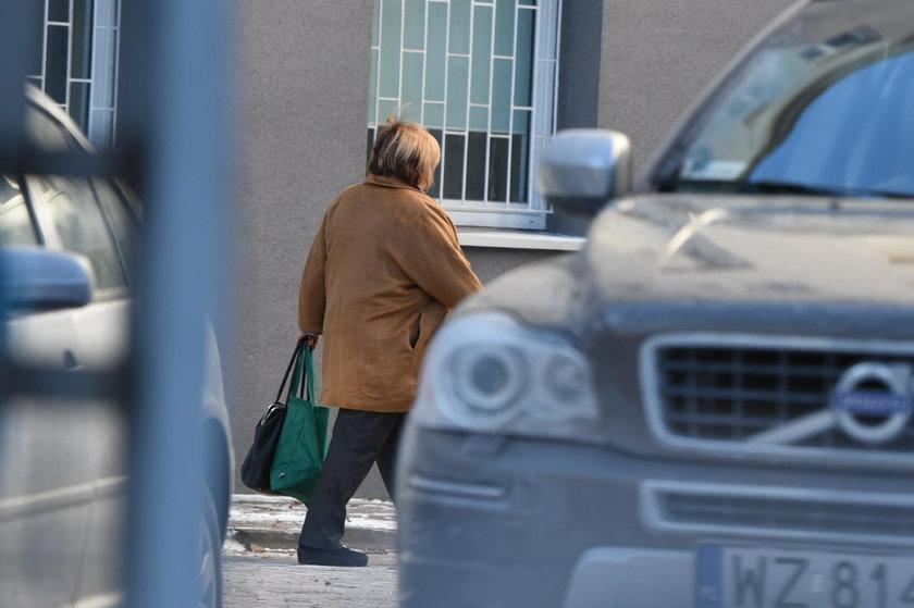 Anna Komorowska wybiera się do męża do szpitala