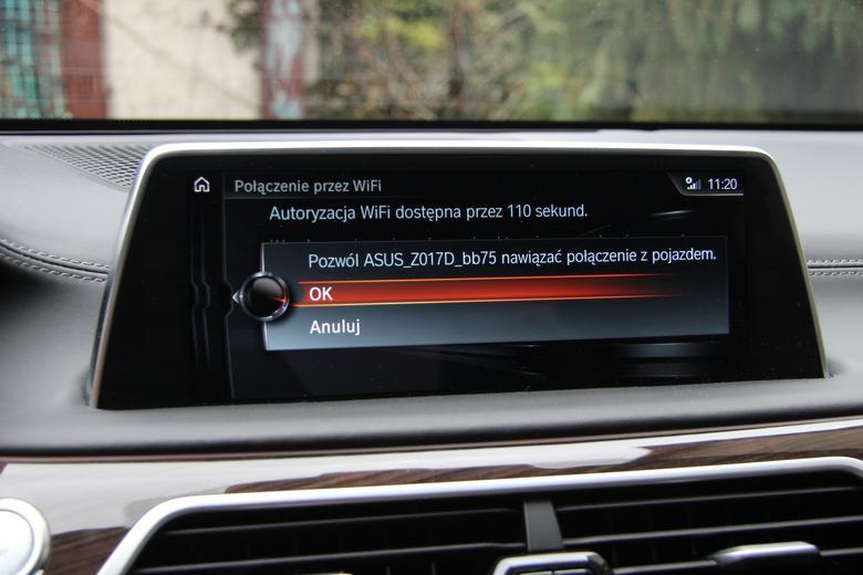 Wystarczy kliknąć OK by zatwierdzić połączenie z telefonem. Na ekranie pojawi się nazwa kodowa telefonu. W przypadku Asus Zenfone 3 jest to oznaczenie Z017D