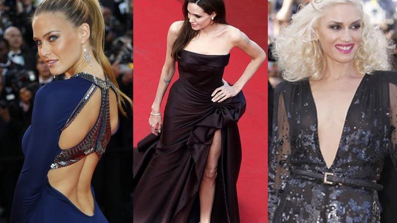 Seksowne rozcięcia i wycięcia w Cannes