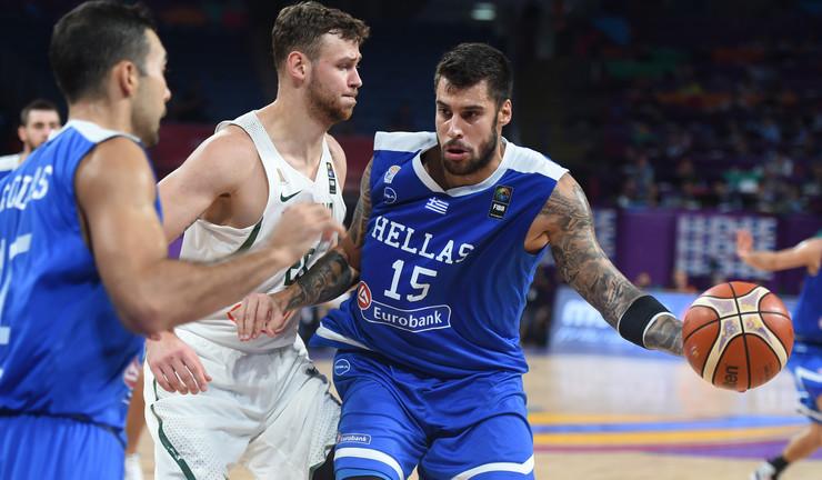 Košarkaška reprezentacija Grčke, Košarkaška reprezentacija Litvanije