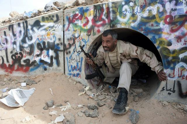 Tunel u koji se Gadafi sakrio od bombardovanja