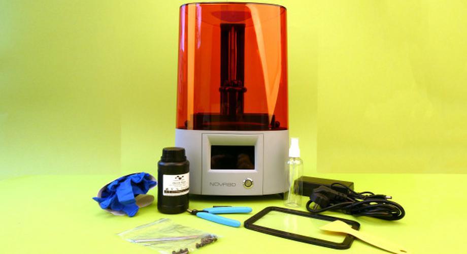 Resin-Drucker Elfin von Nova3D im Test: out of the Box gut