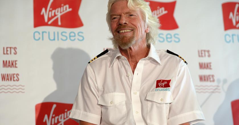 Richard Branson, założyciel Virgin Group