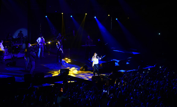 Delić atmosfere sa koncerta