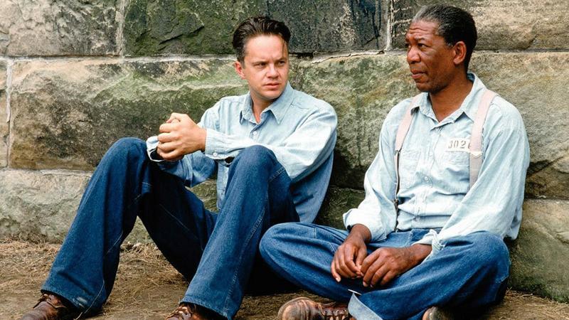 """""""Skazani na Shawshank"""" - kadr z filmu"""