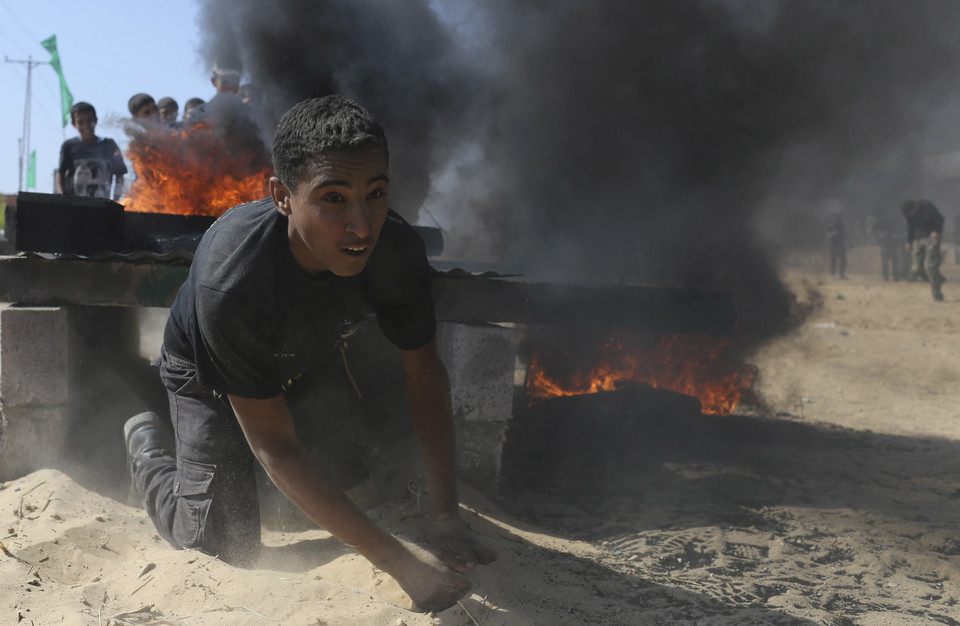 GAZA - POLITICS CIVIL UNREST MILITARY