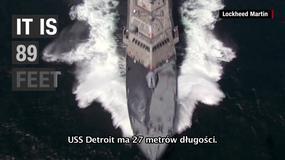 USS Detroit - nowy okręt przeszedł testy