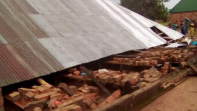 2 dead as church building collapses while service is ongoing