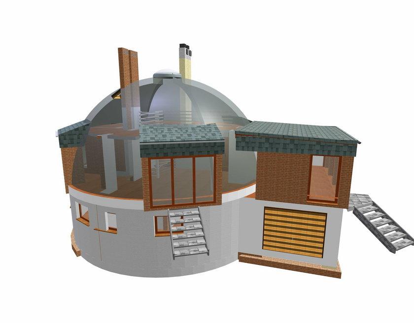 Tak będzie wyglądać dom igloo