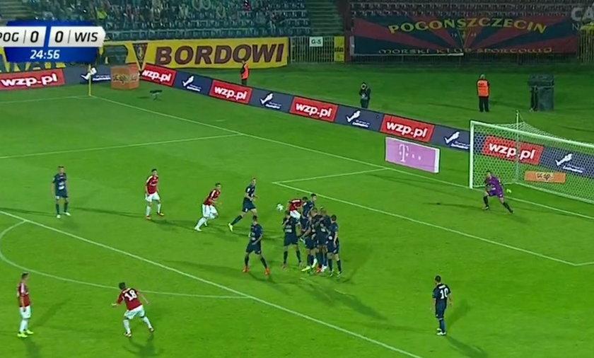 Gol Semira Stilicia najpiękniejszym golem 6. kolejki Ekstraklasy