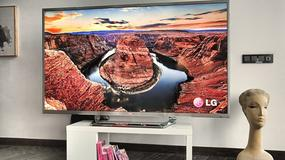 "Telewizor 84"" z obrazem UD od LG"