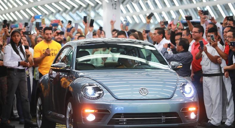 Bye bye, bug - the last VW Beetle. (BusinessLIVE)