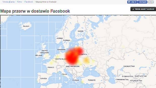 Awaria Facebooka i Instagrama w Polsce 9787ee936b1