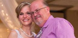 Pokonała raka i zatańczyła na weselu ze swoim dawcą