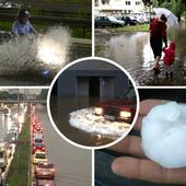 104 LITRE KIŠE PO KVADRATU! Borča je juče bila rekorder po količni kiše koja se sručila, a ova lista otkriva kako su prošle druge opštine
