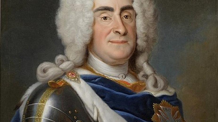 August II Mocny - domena publiczna
