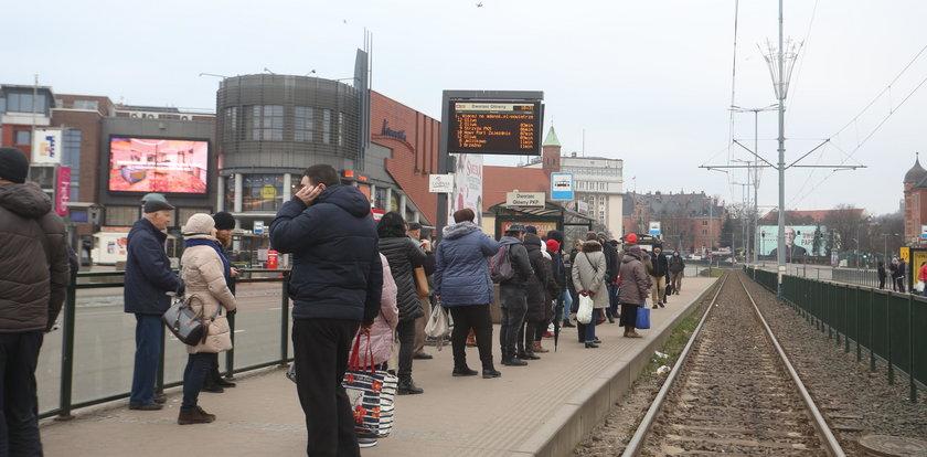 Tak spóźnia się komunikacja miejska w Gdańsku!