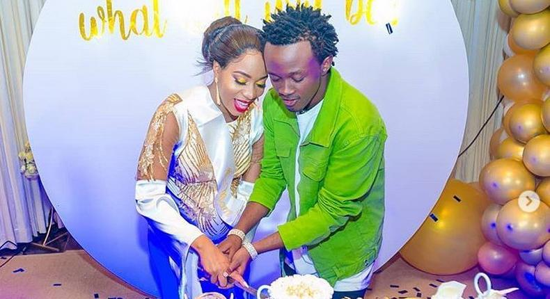 Bahati treats wife to an exquisite invites only baby shower