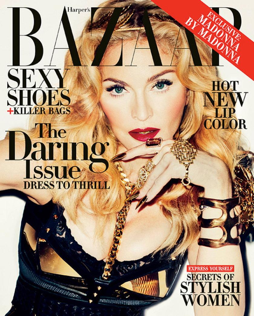 Madonna Harpers Bazaar