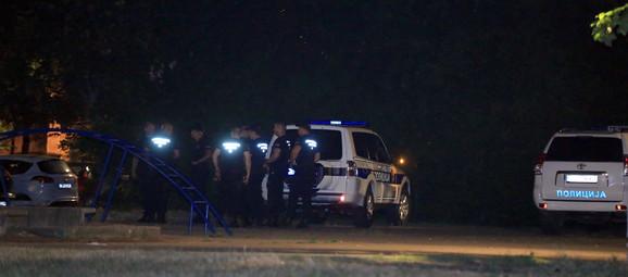 Veliki broj policijskih ekipa na licu mesta