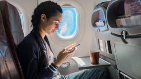 Pilnuj swojego telefonu w czasie lotu, bo może być przyczyną katastrofy
