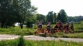 Prawie 50 tys. turystów skorzystało z drezyn rowerowych