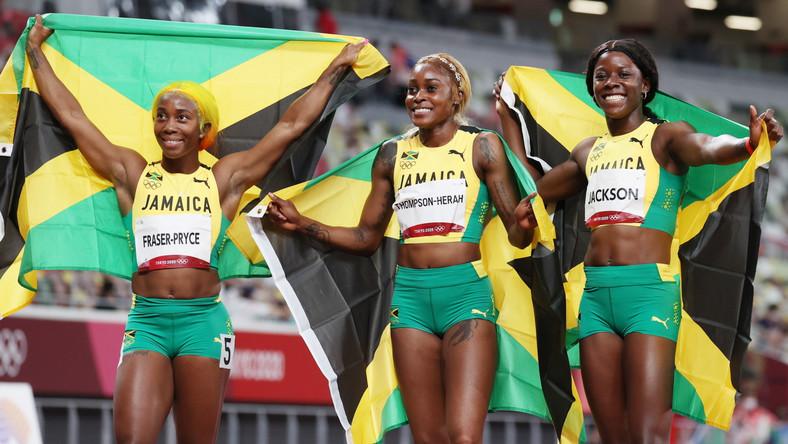 Trzy Jamajki na olimpijskim podium