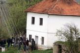 Kuća u Radoševu kod Arilja u kojoj se dogodilo ubistvo