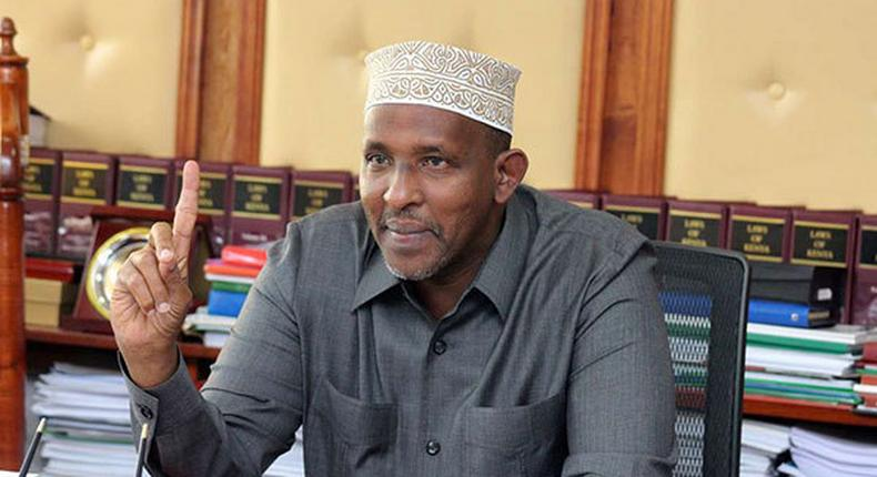 You can't shout at me because you are not my wife – Aden Duale to Gladys Wanga