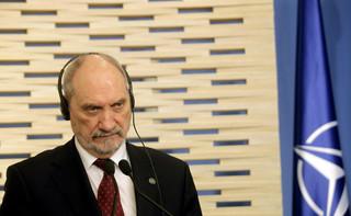 Macierewicz: CEK NATO funkcjonuje i pozostanie w Krakowie