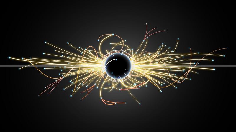 Cząsteczki i czarna dziura w Wielkim Zderzaczu Hadronów