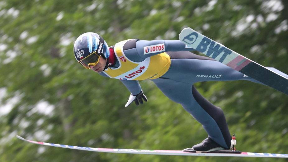 Jakub Wolny zaliczył bardzo udany konkurs w Klingenthal