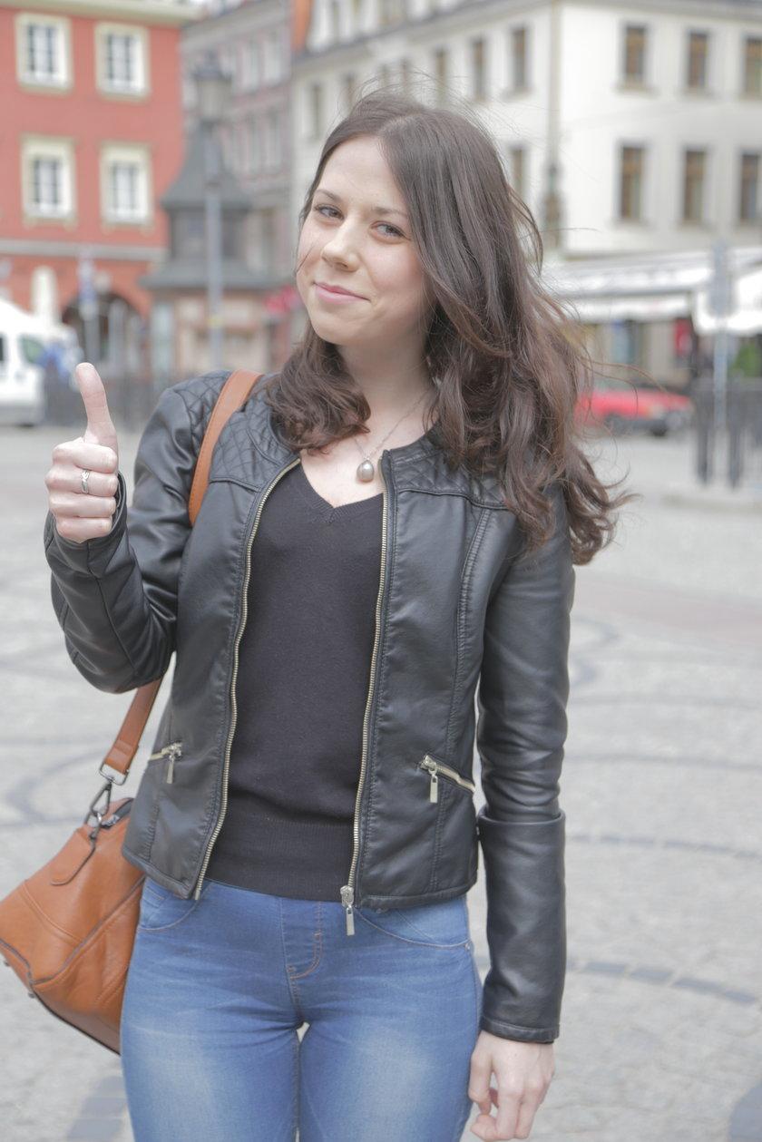 Katarzyna Gieranin (18 l.), uczennica