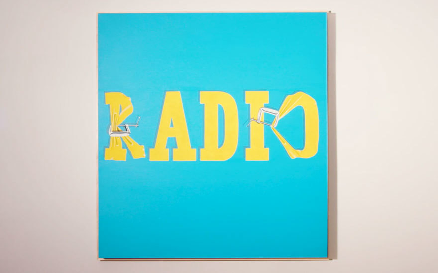 "Ed Ruscha, ""Hurting the Word Radio #2"" (1964) - 52 485 000 dol."