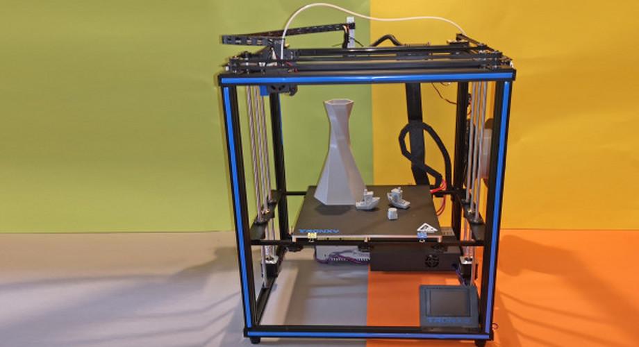 Tronxy X5SA im Test: Günstiger 3D-Drucker mit XL-Bauraum