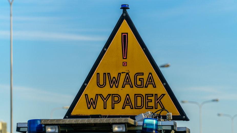 Do wypadku doszło w miejscowości Niegów na trasie Warszawa-Wyszków
