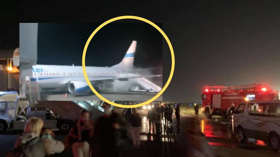 """Polski samolot lądował awaryjnie. """"Wydobywał się dym"""". Przewoźnik wyjaśnia"""