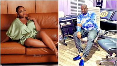 'If I die, I die' - Actress Nazo Ekezie says as she shoots her shot at Don Jazzy