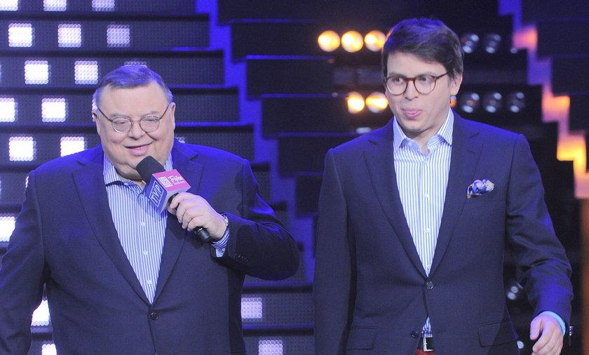 Wojciech Mann i syn Marcin