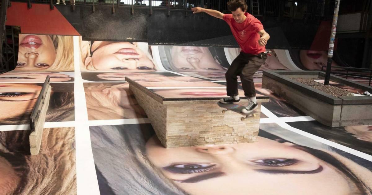 Kunst-Skandal: Skater sollten Frauengesichter zerstören