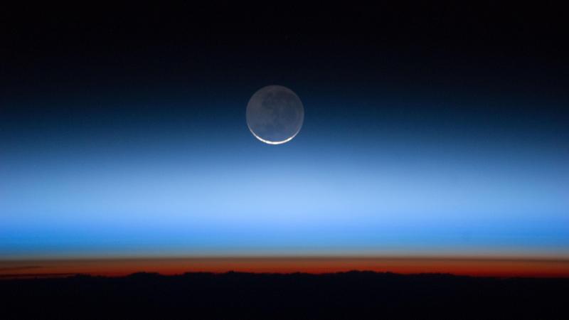 Księżyc, fot. Reuters/NASA