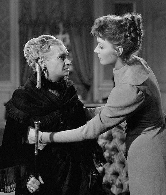 Marija Uspenska i Greta Garbo u filmu