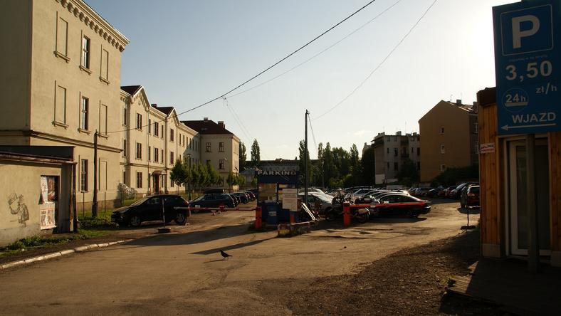 Teren przy ulicy Karmelickiej