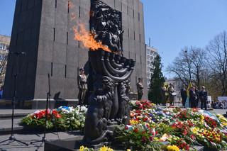 W Warszawie uczczono 76. rocznicę powstania w getcie warszawskim