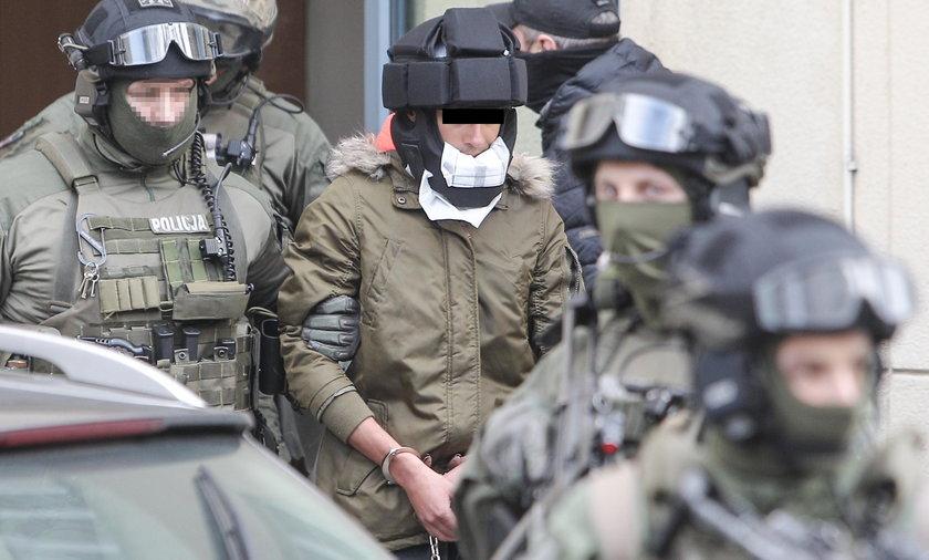 Kajetan P. doprowadzony do prokuratury