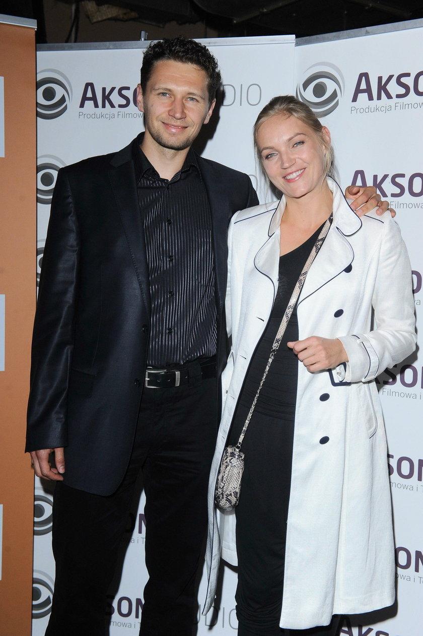 Dominika Chorosińska (Figurska) z mężem Michałem Chorosińskim